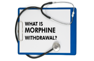 What is morphine withdrawal?
