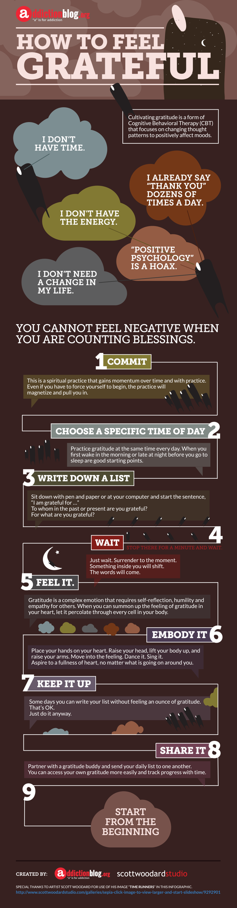 How to feel more grateful (INFOGRAPHIC)