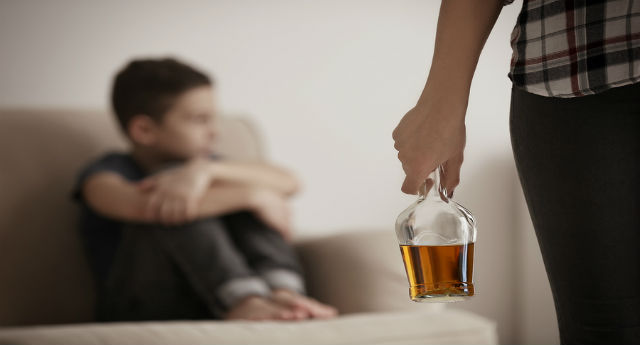 Child of a parent with addiction: How to cope