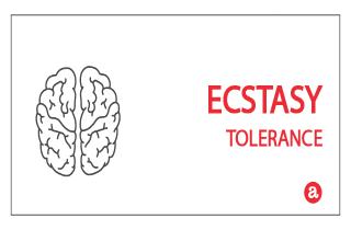 Tolerance to ecstasy