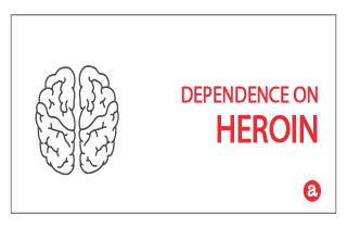 Dependence on heroin