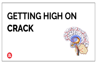 Can you get high on crack?