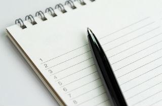How to create a gratitude list
