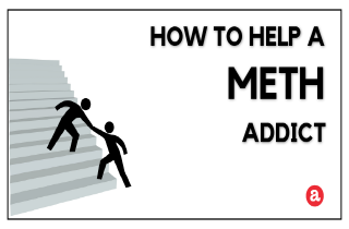 How to help a meth addict