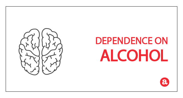 Dependence on alcohol