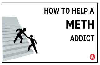 How to help a crystal meth addict?