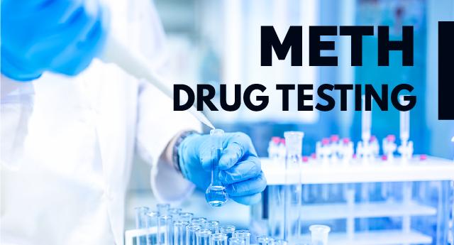 Does meth show up on drug tests?