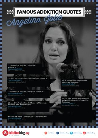 Famous Addiction Quotes Angelina Jolie [Reference Sources]