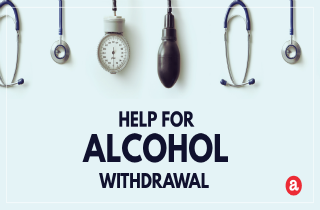 Help for alcohol withdrawal
