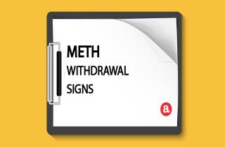 Meth withdrawal signs