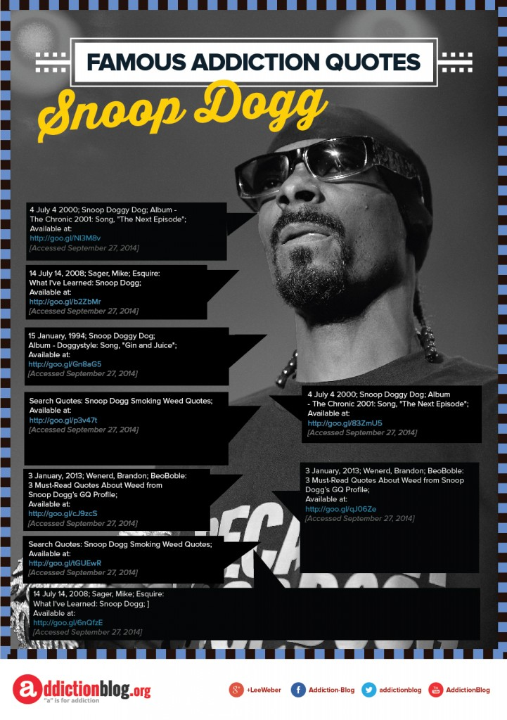 Famous Addiction Quotes Snoop Dogg_01