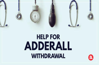 Help for Adderall withdrawal