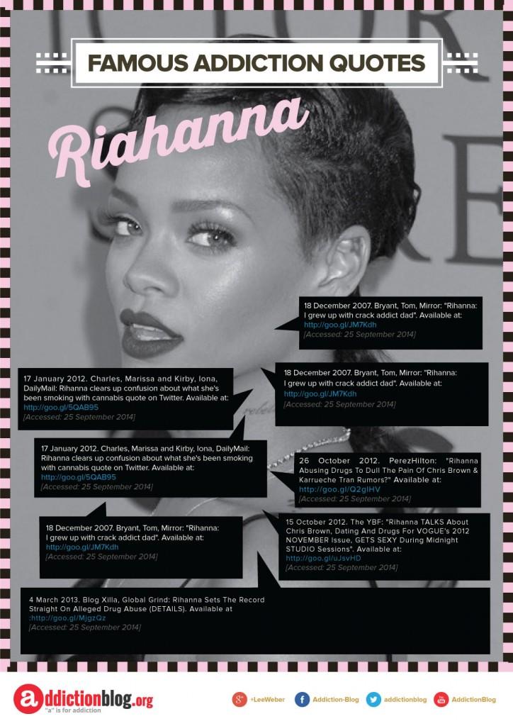 Rihanna B&W pink