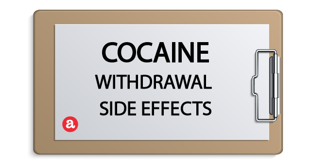 Cocaine withdrawal side effects