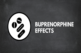 Buprenorphine effects