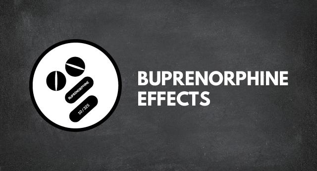 Buprenorphine effects