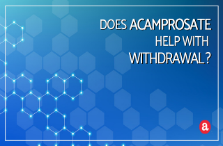Does acamprosate help with alcohol withdrawal?