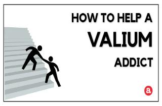 How to help a Valium addict