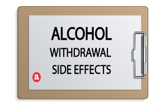 Alcohol withdrawal side effects