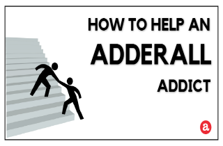 How to help an Adderall addict