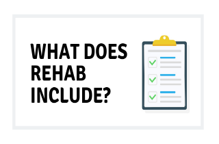 Alcohol addiction rehab programs: What's included?