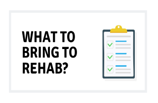 Alcoholism rehab centers: What to bring with you?
