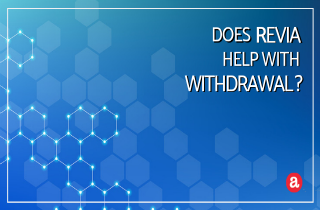 Does Revia help with withdrawal?