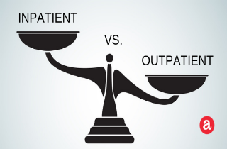 Inpatient drug rehab vs. outpatient