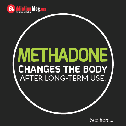Long term effects of methadone on the body (INFOGRAPHIC)
