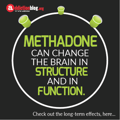 Long term effects of methadone on the brain (INFOGRAPHIC)