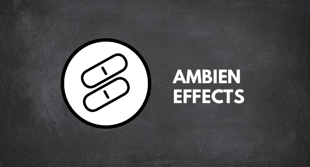 Ambien effects