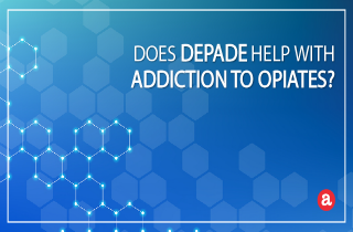 Does Depade help with addiction to opiates?