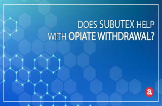 Does Subutex help with opiate withdrawal?