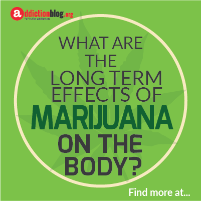 Long term effects of marijuana on your body  (INFOGRAPHIC)