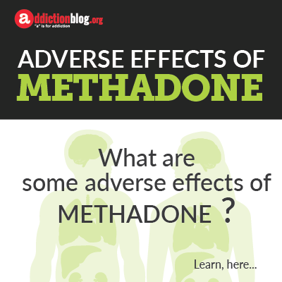 Adverse effects of methadone (INFOGRAPHIC)