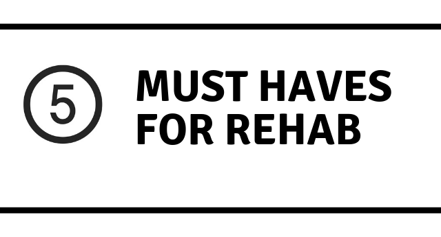 Rehab facilities for alcoholism: 5 MUST HAVES