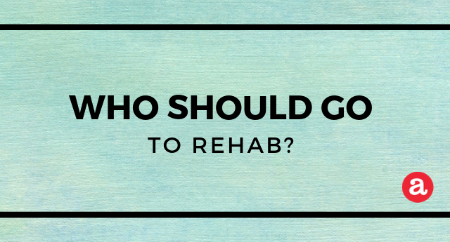 Alcohol addiction rehabilitation: Who should attend?