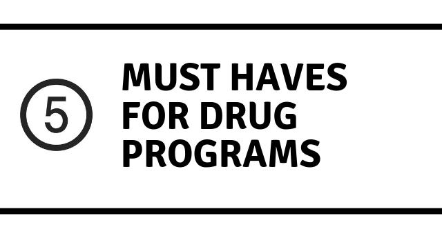 Best drug rehab programs: 5 MUST HAVES