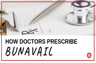 How is Bunavail prescribed?
