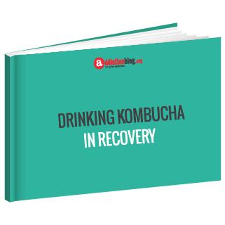 Drinking kombucha in recovery