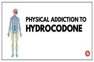 Physical addiction to hydrocodone