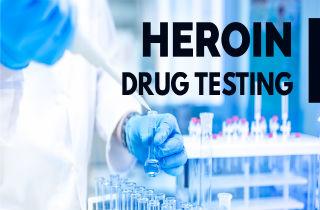Does heroin show up on drug tests?