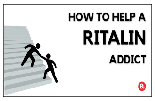 How to help a Ritalin addict?