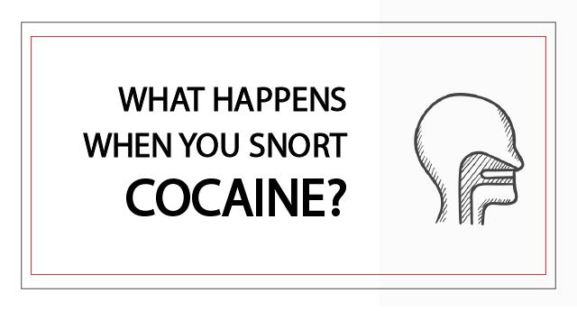 What happens when you snort benadryl