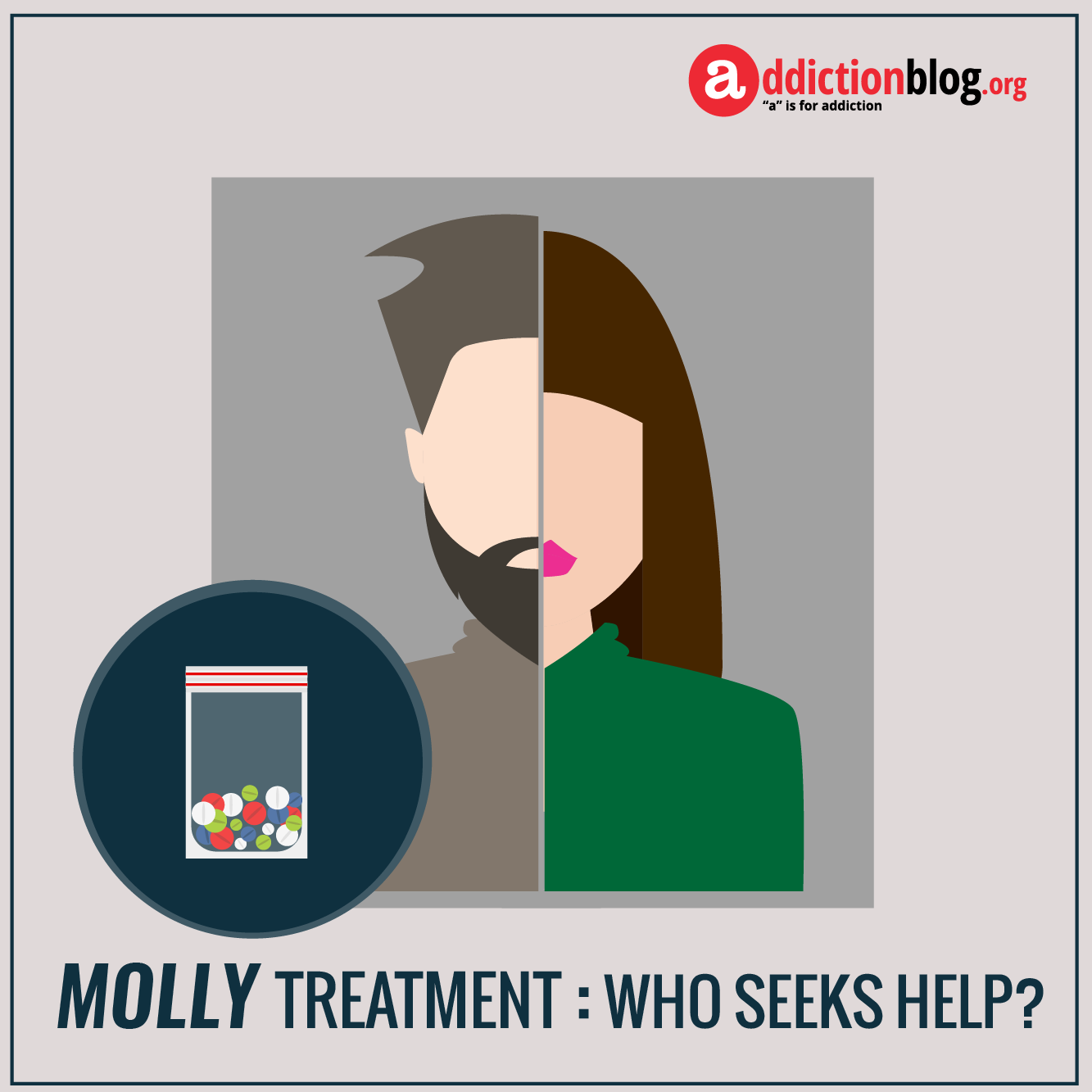 Molly rehab treatment: Who needs help for ecstasy addiction? (INFOGRAPHIC)