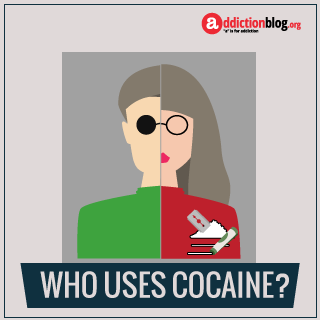 The face of cocaine addiction (INFOGRAPHIC)