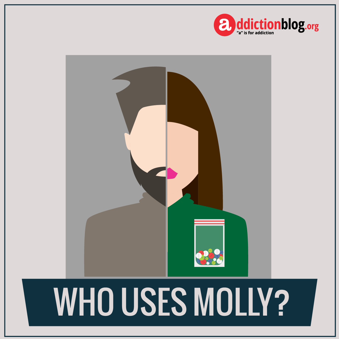 The face of ecstasy addiction: Who uses Molly/MDMA? (INFOGRAPHIC)
