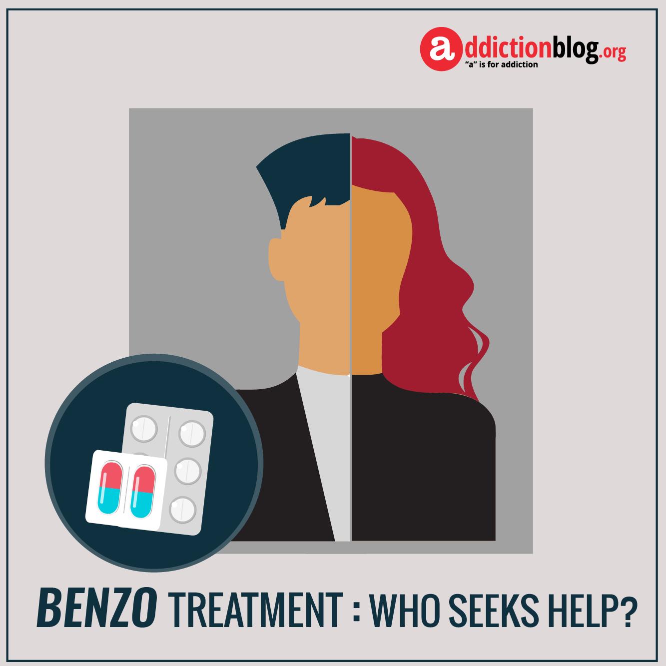 Benzo addiction rehab: Who needs benzodiazepine treatment? (INFOGRAPHIC)