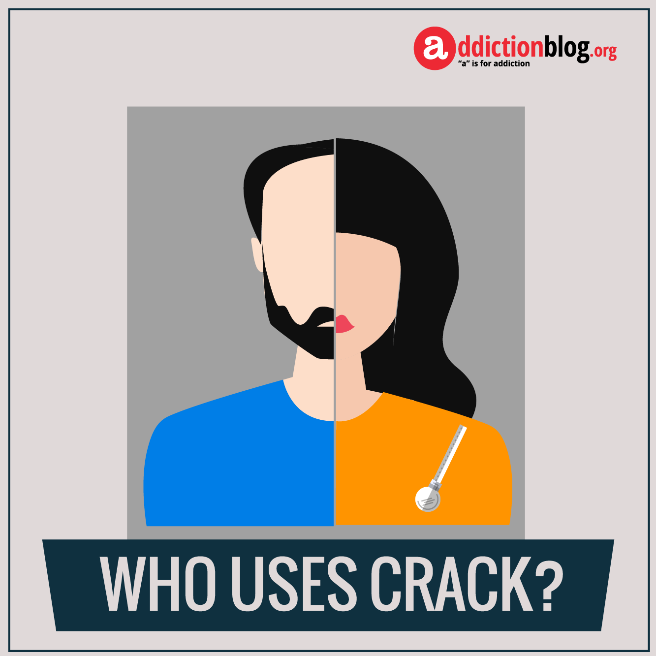 The face of crack addiction: Who uses crack cocaine? (INFOGRAPHIC)