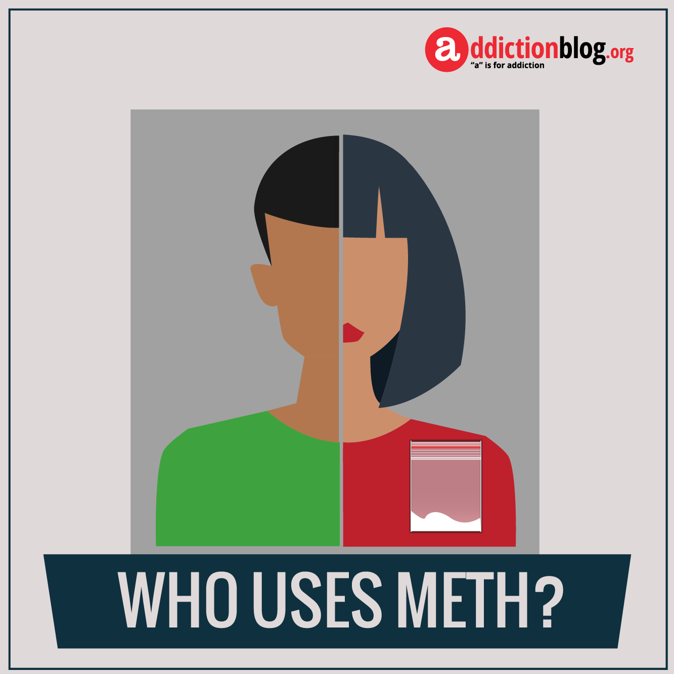 The face of meth addiction: Who uses methamphetamine? (INFOGRAPHIC)